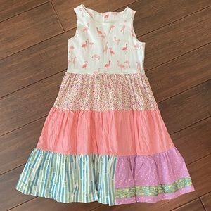 Matilda Jane Platinum London Tiered Tank Dress